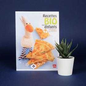 """""""Recettes bio pour les enfants"""" - Anne Brunner - La Plage Éditions"""