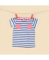 100% BIO - T-shirt Bateau - La queue du chat