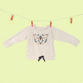 Sweat Tristan Cream Tigre - Les petites choses