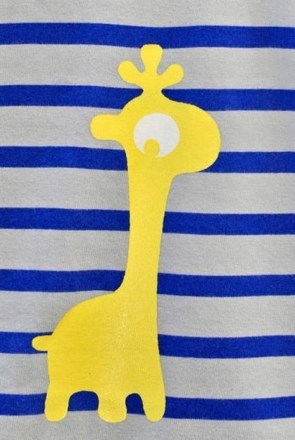 Girafe jaune